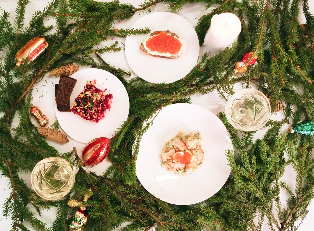 Все выходные: новогоднее меню в КМ20. Каждый день с 19 декабря